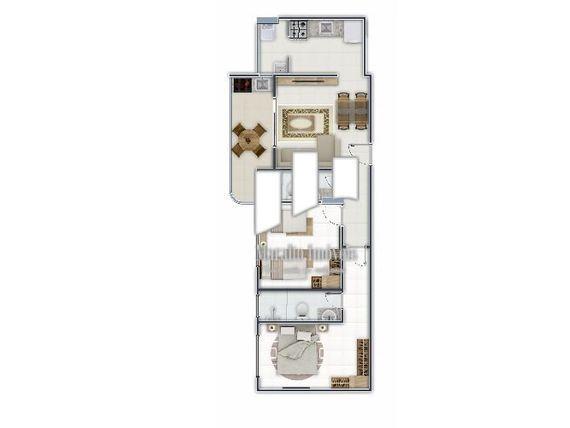 """Apartamentos no Canto do Forte em <span itemprop=""""addressLocality"""">Praia Grande</span> SP."""