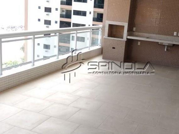 """Apartamento de 4 suítes com hidromassagem e Varanda Gourmet de 57 m² no Canto do Forte, <span itemprop=""""addressLocality"""">Praia Grande</span>"""