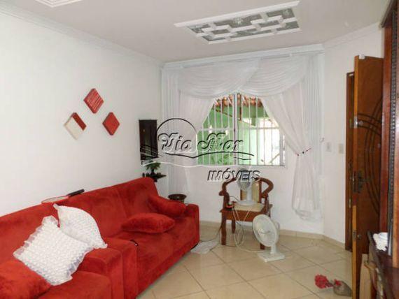 """Casa em <span itemprop=""""addressLocality"""">Praia Grande</span> - Campo da Aviação"""
