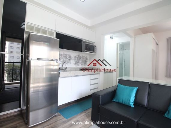 Apartamento à venda com 35m², Vila Olimpia - SP