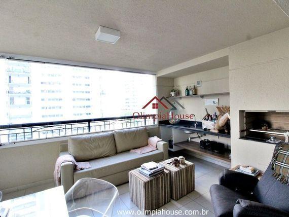 """Apartamento para locação mobiliado de 165mts², 4 dormitórios,em <span itemprop=""""addressLocality"""">Moema</span>."""