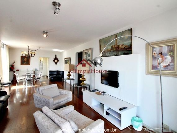 """Apartamento para venda com 198m², <span itemprop=""""addressLocality"""">Brooklin</span> - SP."""
