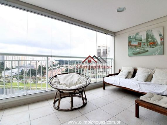"""Apartamento à venda com 111m², <span itemprop=""""addressLocality"""">Brooklin</span>-SP"""