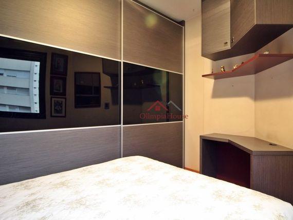 """Apartamento à venda com 58m², <span itemprop=""""addressLocality"""">Pinheiros</span>-SP"""
