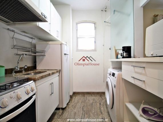 """Apartamento para locação 44m² - <span itemprop=""""addressLocality"""">Jardim Paulista</span>, São Paulo"""