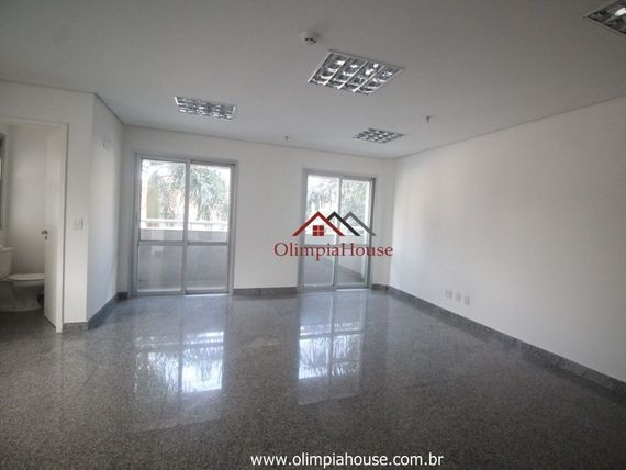 """Conjunto comercial para locação com 40m² na <span itemprop=""""addressLocality"""">Vila Olímpia</span>"""
