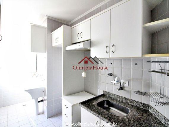 Apartamento para venda com 50m² no Brookilin - SP