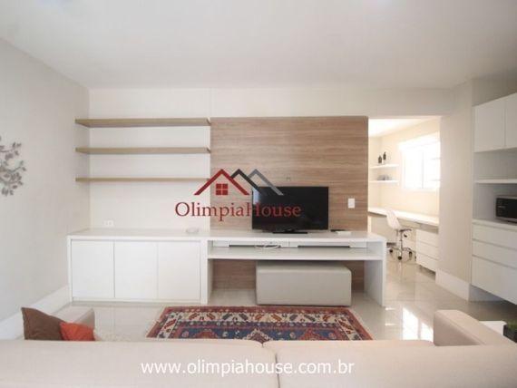 Lindo apartamento mobiliado no Itaim para locação, 51 m²,  1 dormitório e uma vaga