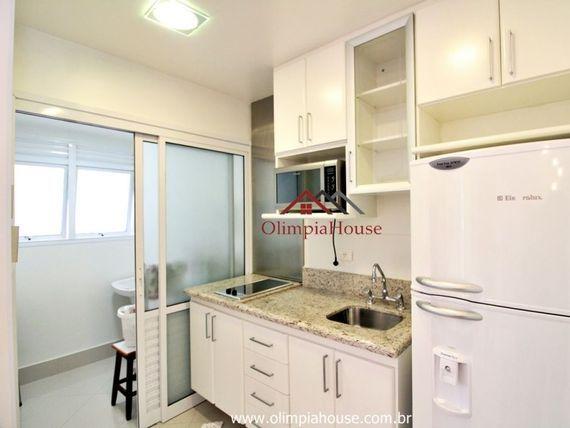"""Apartamento para locação com 47m², <span itemprop=""""addressLocality"""">Brooklin</span> SP;"""