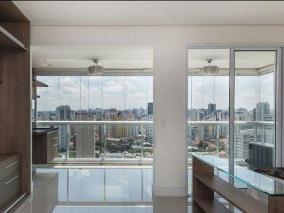 """Apartamento para venda e locação com 43m² na <span itemprop=""""addressLocality"""">Vila Olímpia</span>"""