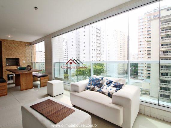 """Apartamento  residencial à venda, <span itemprop=""""addressLocality"""">Campo Belo</span>, São Paulo."""