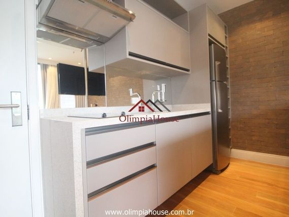 """Apartamento TOP mobiliado e decorado com 61m² na  <span itemprop=""""addressLocality"""">Vila Olímpia</span>"""