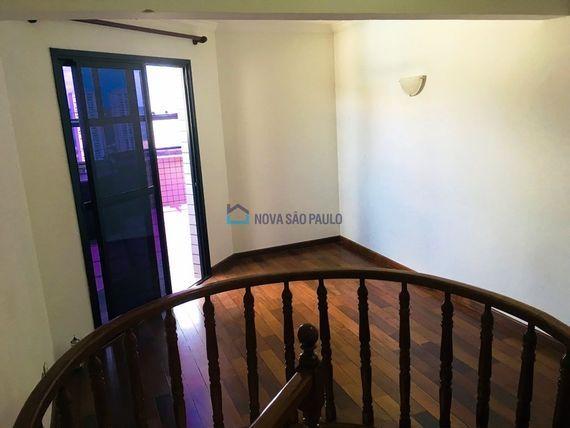 """Cobertura com 4 quartos e Armario cozinha na <span itemprop=""""streetAddress"""">R Lucrécia Maciel</span>, São Paulo, <span itemprop=""""addressLocality"""">Jabaquara</span>"""