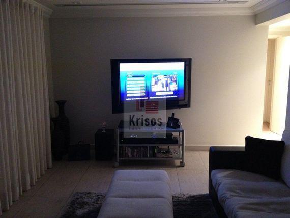 apartamento  mobiliado, 143m² area util, 3 suítes, 3 vagas
