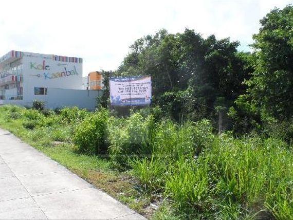 "Terreno habitacional en venta en <span itemprop=""addressLocality"">Supermanzana 57</span>, Benito Juárez, Quintana Roo"