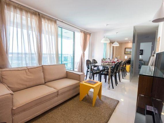 Apartamento de charme com 3 quartos 2 suítes