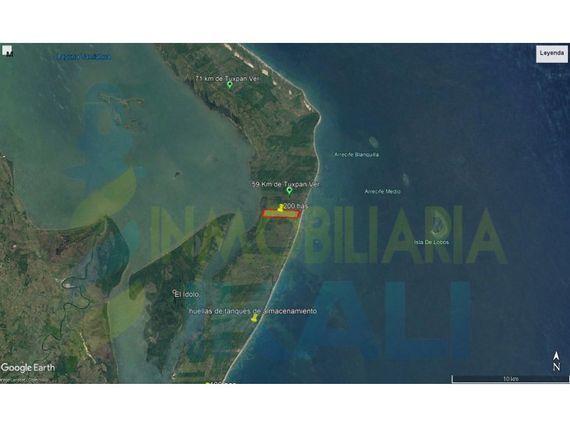 """Venta Terreno 200 hectáreas Playa y Laguna Tamiahua <span itemprop=""""addressLocality"""">Veracruz</span>, Tamiahua"""