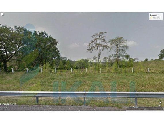 """Vendo terreno zona industrial en libramiento portuario tuxpan <span itemprop=""""addressLocality"""">Veracruz</span> 4 has., La Victoria"""