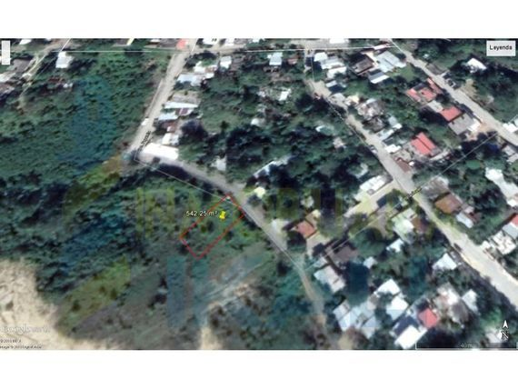 "Venta Terreno 542.25 m² Coatzintla <span itemprop=""addressLocality"">Veracruz</span>, Antonio M Quirasco"