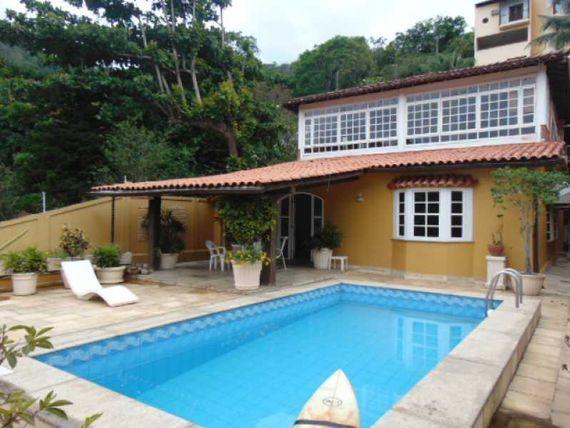 """Casa em Condomínio-À VENDA-Freguesia (<span itemprop=""""addressLocality"""">Jacarepaguá</span>)-Rio de Janeiro"""