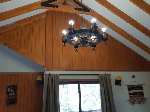 Hermosa casa en Valle las Trancas, Termas de Chillan a puertas cerradas.-