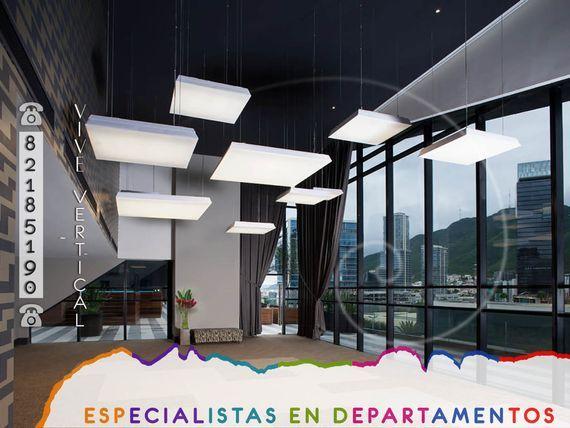 Departamento de Lujo AMUEBLADO en RENTA en zona Valle Oriente