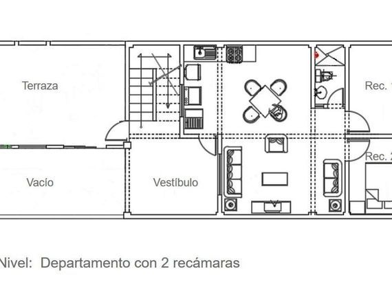 Building with commercial space for sale in San Vicente Nayarit