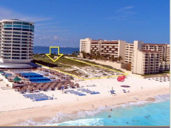 INVERSIONISTA!!!! Terreno Hotelero, Cancun, Quintana Roo, Mexico.
