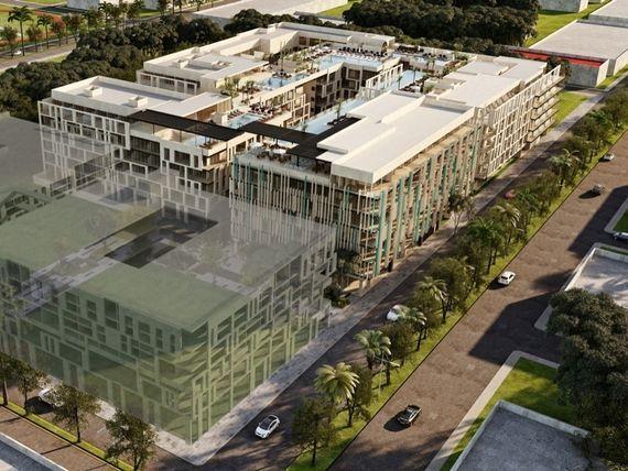 Nuevo Complejo de Departamentos en el Centro de Playa del Carmen