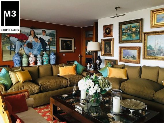 "Espectacular y Elegante Dpto. 3D/4B + serv + Sala Estar, <span itemprop=""streetAddress"">Hermanos Cabot</span>"