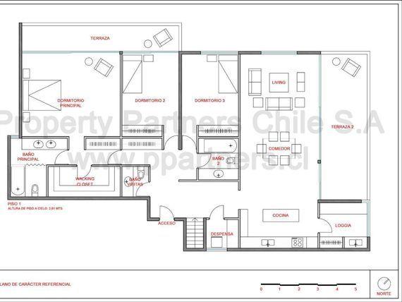 """Fabuloso Duplex con Jardín en el Mejor Sector de <span itemprop=""""addressLocality"""">Vitacura</span>"""