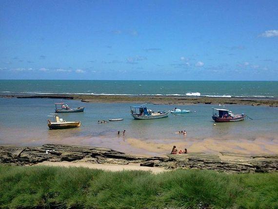 Casa mobiliada de praia a venda em Barreta