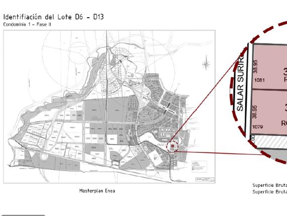 "Terreno Industrial <span itemprop=""addressLocality"">Pudahuel</span> sector ENEA FASE 2 Poniente <span itemscope="""" itemtype=""http://schema.org/TradeAction""><span itemprop=""price"">UF 61.665</span></span>/m2"