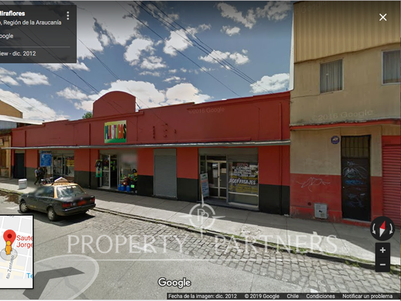 "Local Comercial, Casco Fundacional Miraflores <span itemprop=""addressLocality"">Temuco</span>"