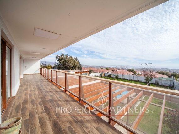 Espectacular casa con vista panorámica