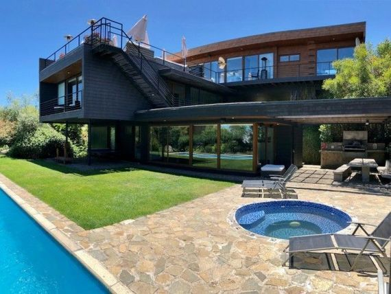 Casa con impresionante vista