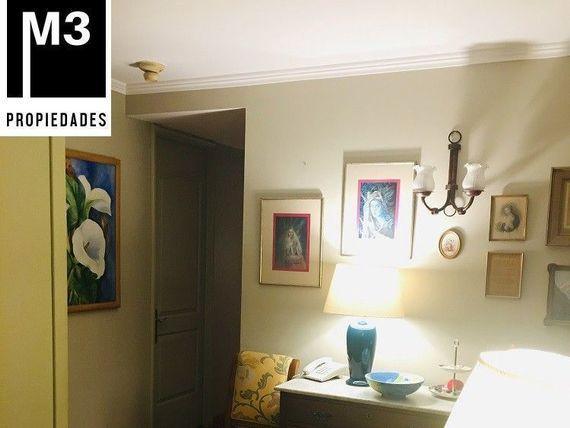 Dpto. remodelado 2D/2B + serv. Condominio, Parque Arauco