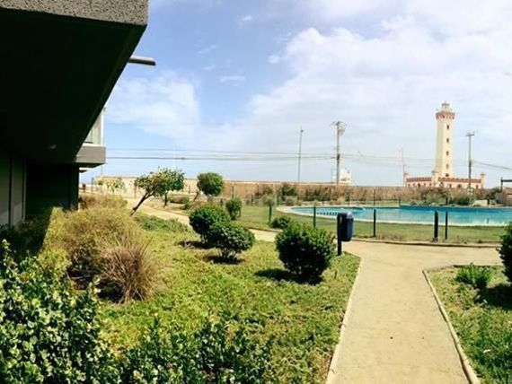 Departamento en Condominio Mirador el Faro con  vista al mar.
