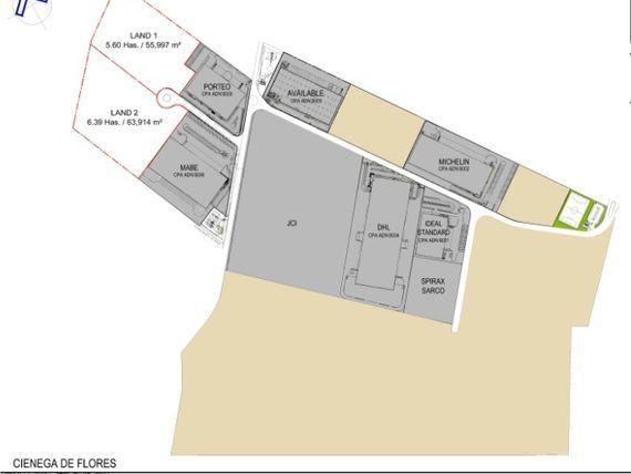 Terreno Industrial dentro de Parque Industrial AAA en Ciénega de Flores