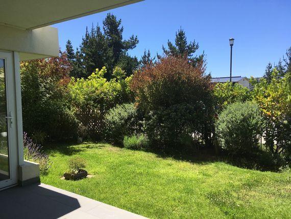 Oportunidad!!! Precioso departamento con jardín uso exclusivo, Lomas de Montemar