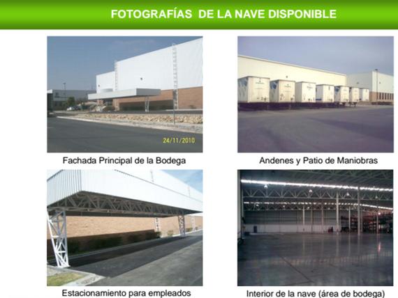 Bodega Industrial dentro de Parque Industrial AAA en Apodaca
