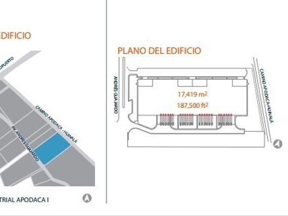 Bodega/Nave Industrial en renta en Apodaca