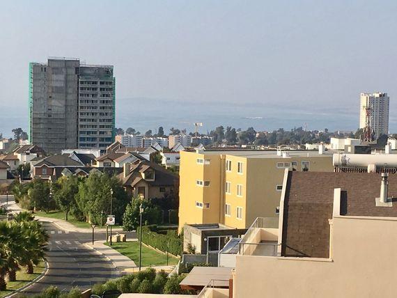 Exclusivo departamento, gran terraza con vista al mar