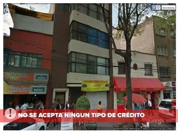 """Departamento en Hipódromo <span itemprop=""""addressLocality"""">Condesa</span>, CDMX (4) ¡NO CRÉDITOS!"""