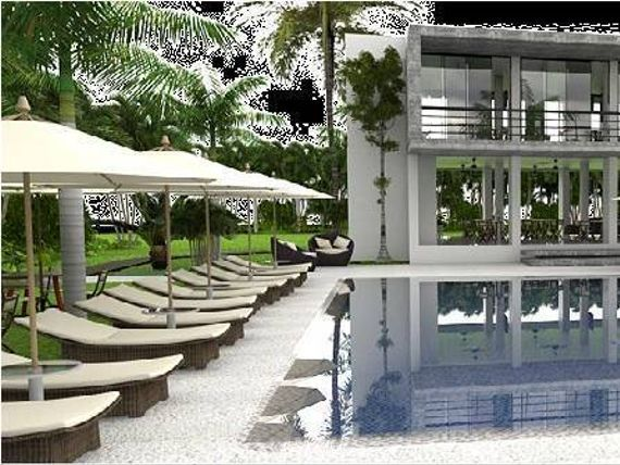 House for sale in private ecological community with pool in Mezcales