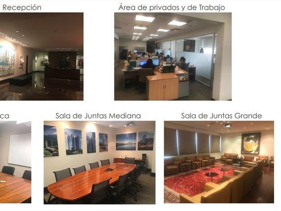 Oficina acondicionada de LUJO en TORRE COMERCIAL AMERICA