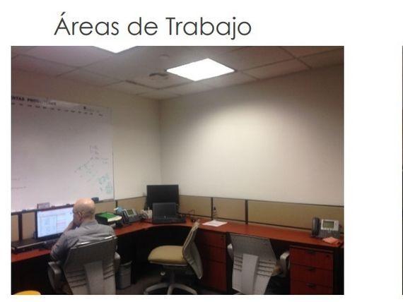 Oficina acondiciona en Torre Ing Comercial America