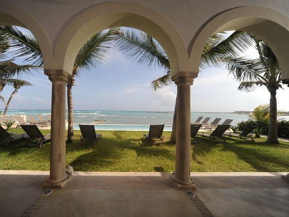 Riviera Maya Haciendas del Mar  Luxury beachfront villa  11 Bedrooms .