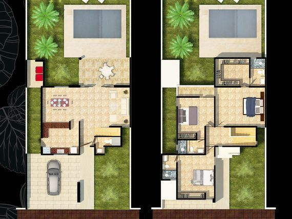 """Casa en Privada Botánico Mod. 206 Tipo B, <span itemprop=""""addressLocality"""">Conkal</span>."""