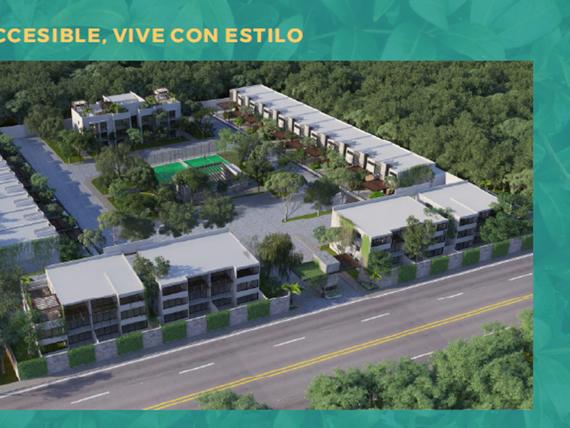 Lujosos departamentos en exclusiva privada en zona norte de la ciudad de Mérida